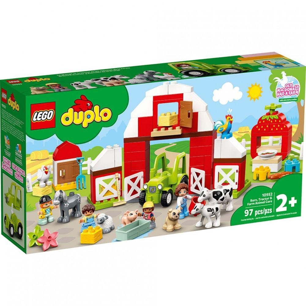樂高 LEGO - 樂高積木 LEGO《 LT10952 》Duplo 得寶系列 - 農場動物照護中心豪華組-97pcs