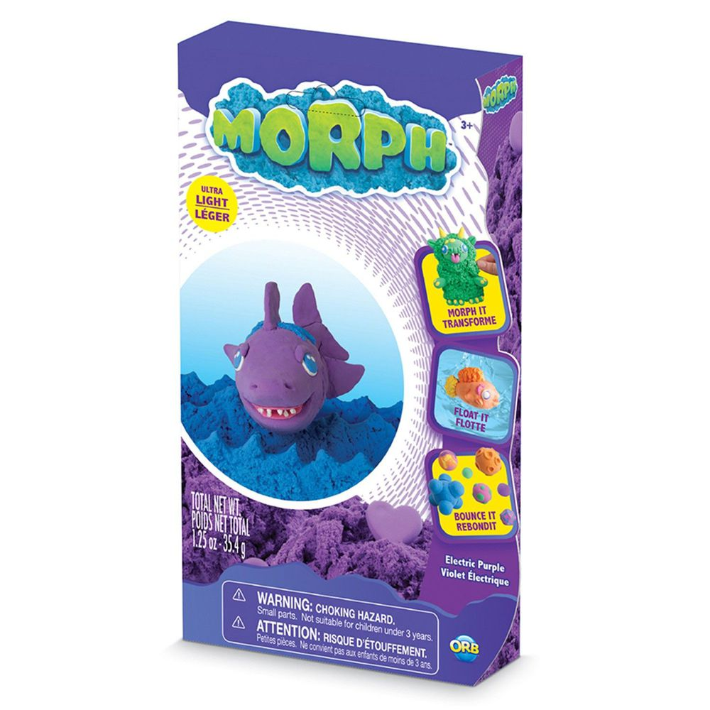 瑞典 MORPH - 魔塑黏土-紫 (M)-35.4g