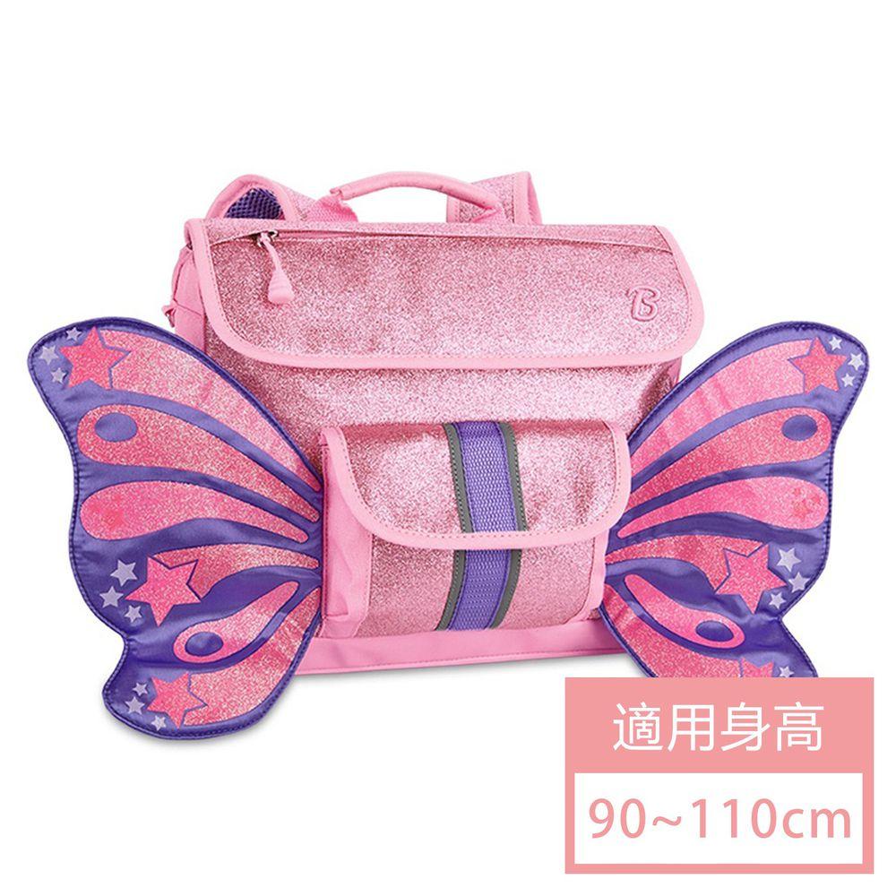 Bixbee - Sparkalicious Pink Butterflyer 飛飛童趣系列-粉紅閃閃蝴蝶小童背包 (32*25*10cm)