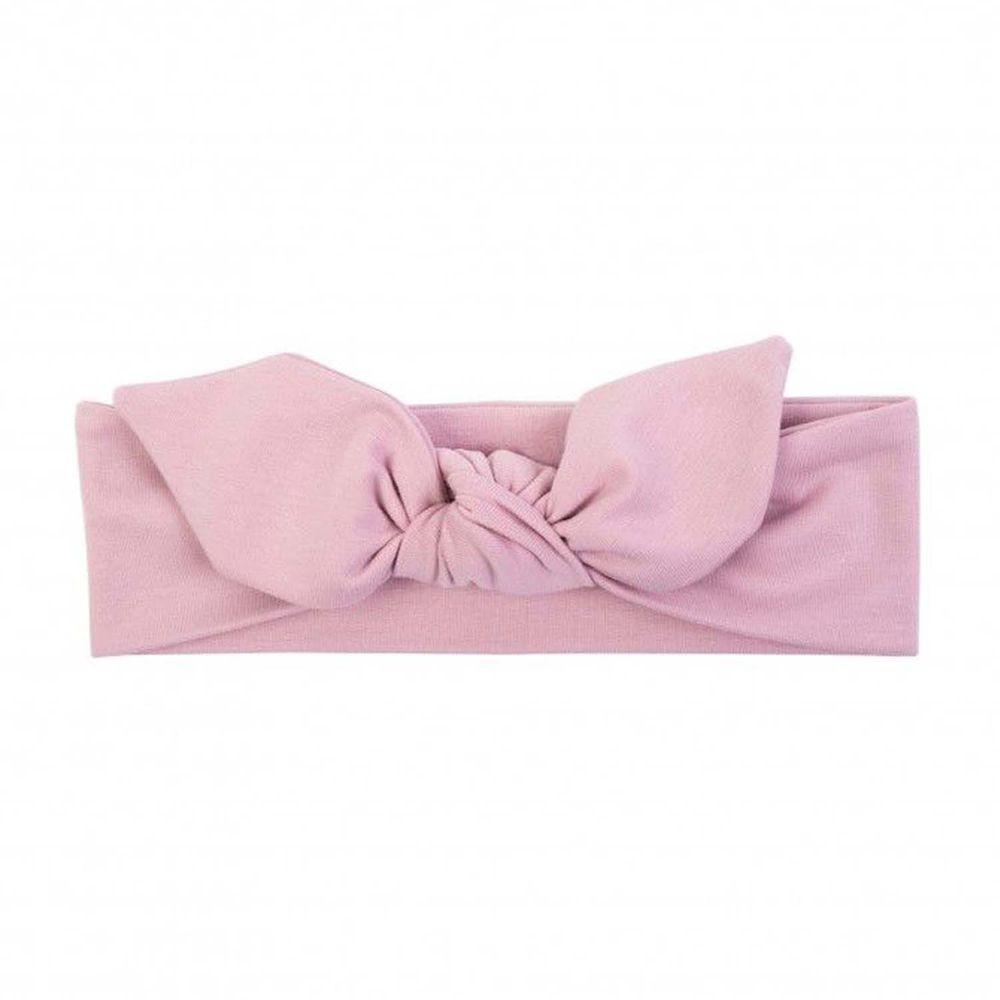 波蘭UL&KA - HBC-04 波蘭手工寬版髮帶-寬版髮帶-Powder Pink