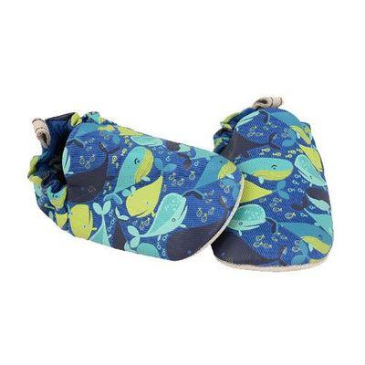 寶寶手工鞋-小小鯨魚