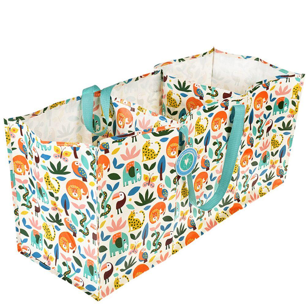 英國 Rex London - 玩具/衣物多功能防水環保收納袋/萬用袋-森林樂園
