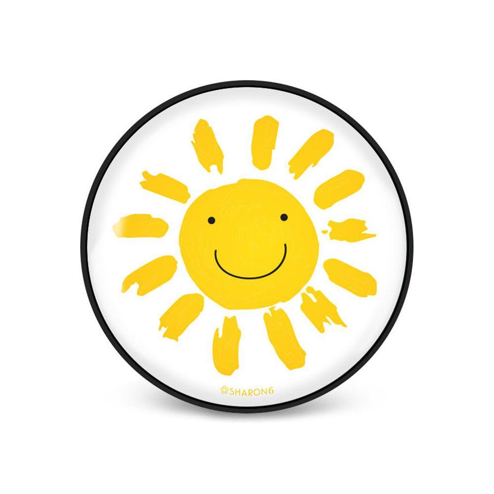 韓國 SHARON6 - 手機氣囊支架-黑色款-太陽