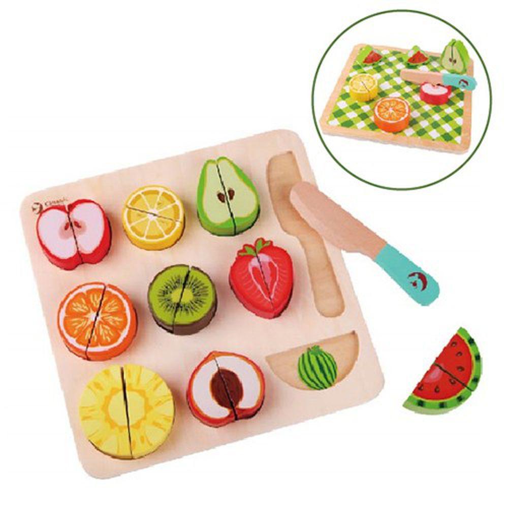 德國 ClassicWorld - 水果切切拼板