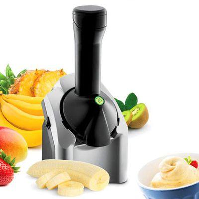 天然健康水果冰淇淋機-經典銀