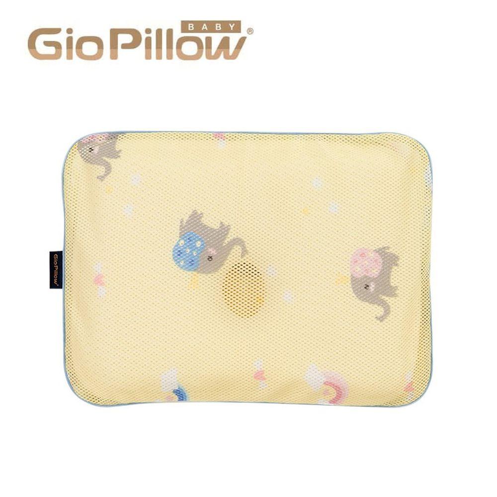 韓國 GIO Pillow - 專用排汗枕頭套-派對小象-S/M