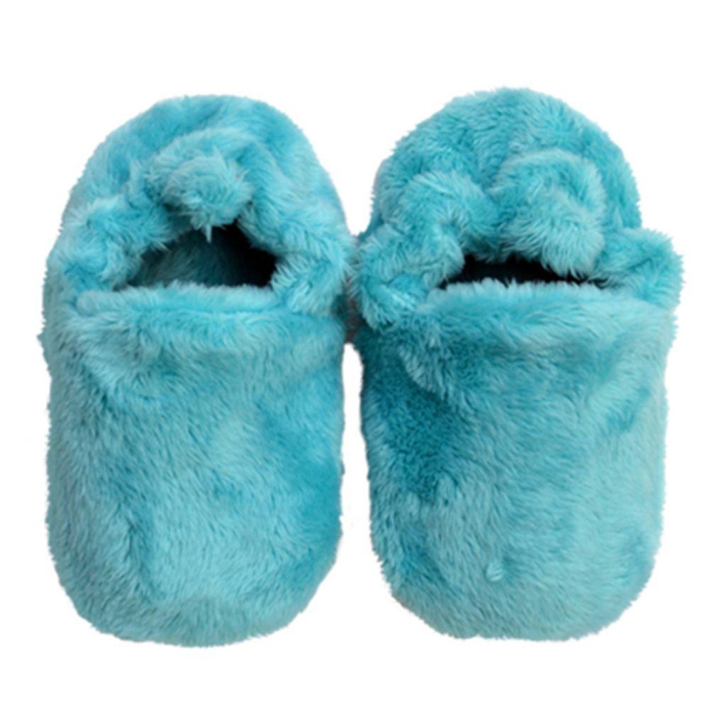 英國 Poconido - 寶寶絨絨鞋/學步鞋-薄荷綠
