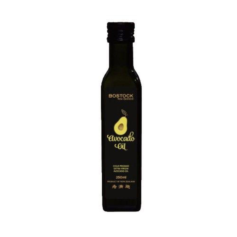 壽滿趣-紐西蘭BOSTOCK - 頂級冷壓初榨酪梨油-250ml