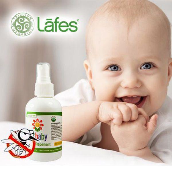 美國 Lafe's有機防蚊液 / Trillium修護霜 初生嬰兒可用!