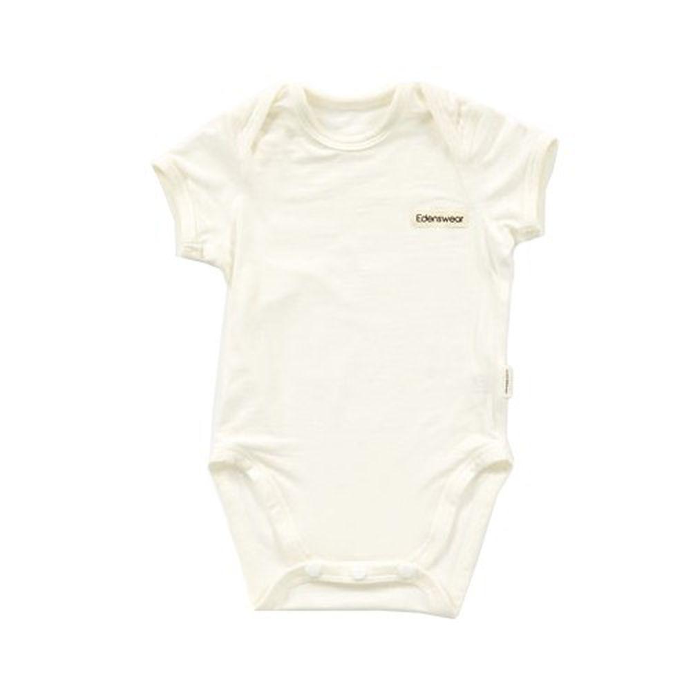 Edenswear 伊登詩 - 鋅纖維抗敏衣系列-小寶寶包屁衣-米白