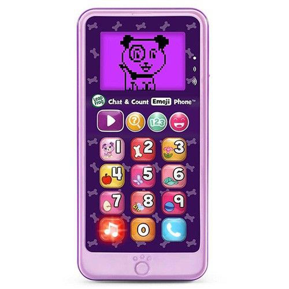 LeapFrog美國跳跳蛙 - 炫光智慧小手機-粉紫