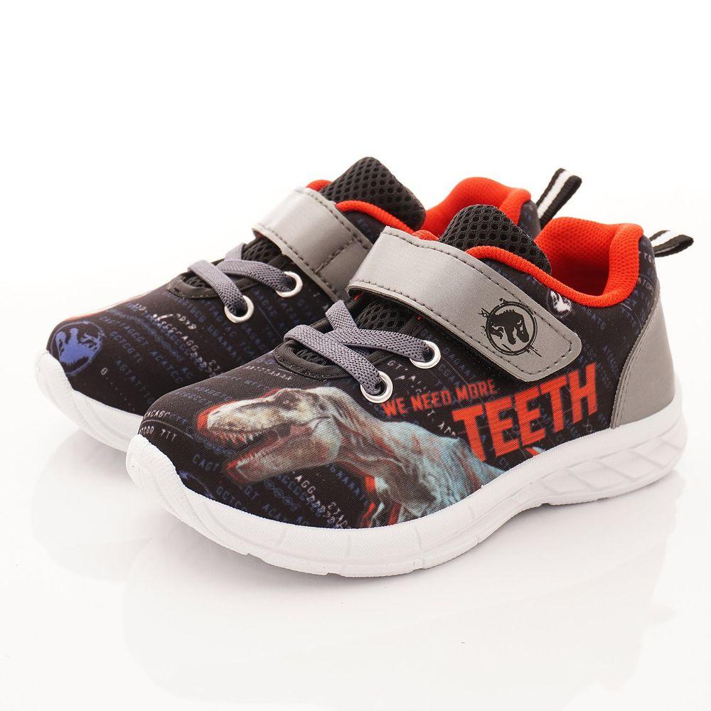 侏羅紀世界 - 侏儸紀卡通童鞋-恐龍運動鞋(中小童段)-灰