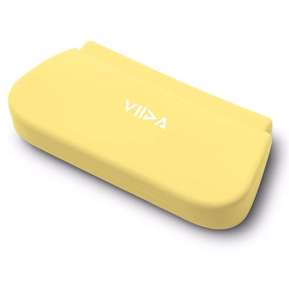 VIIDA - Chubby防水收納袋(L)-萊姆黃 (18x9.3cm)-專案