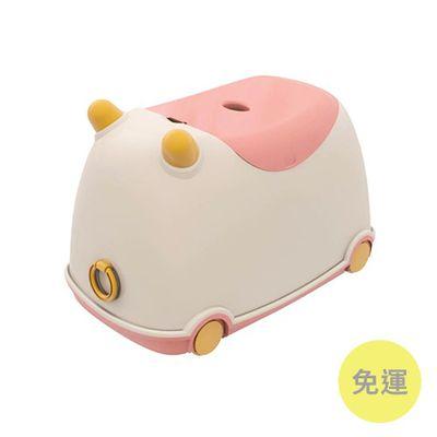 牛BUBU玩具收納車-草莓牛奶