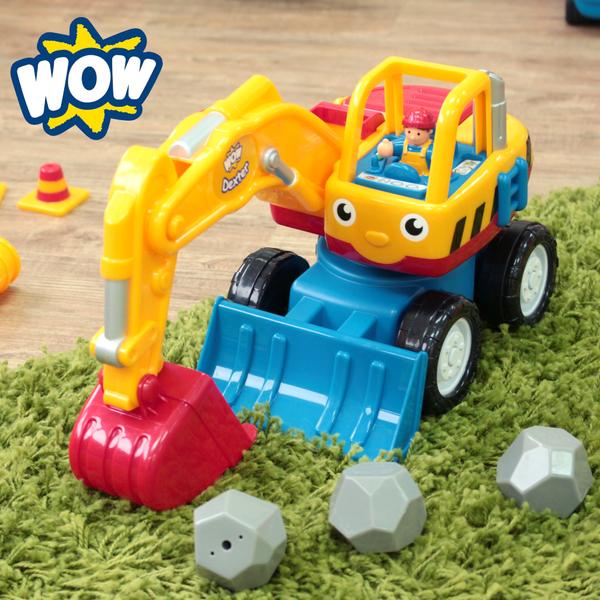 比耐摔更耐摔的玩具車【英國 WOW】救護車、警車、挖土機