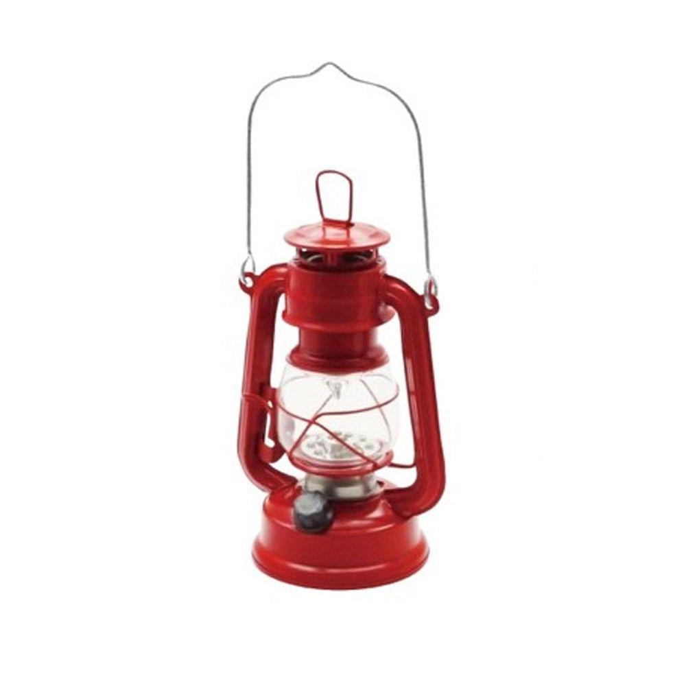 日本丸和 - 復古煤油燈造型LED露營燈-熱情紅 (12x9.5x21cm(含提把27cm))