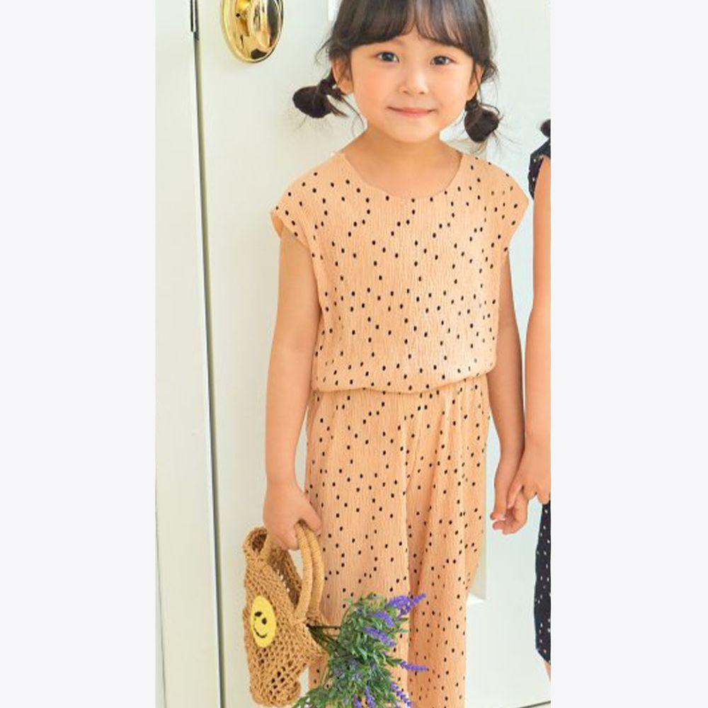 韓國 Hanab - 點點涼感套裝-杏