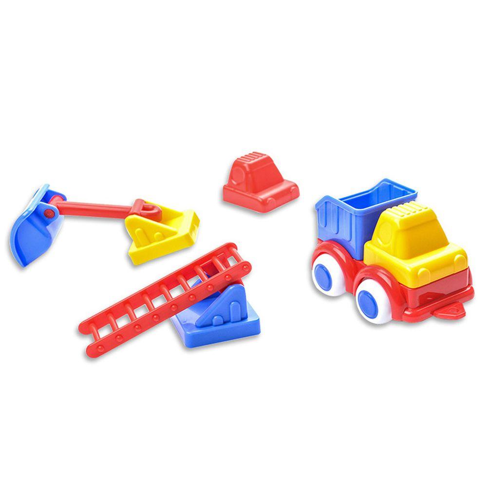 瑞典Viking toys - 【新品】變身工程車(6件組)