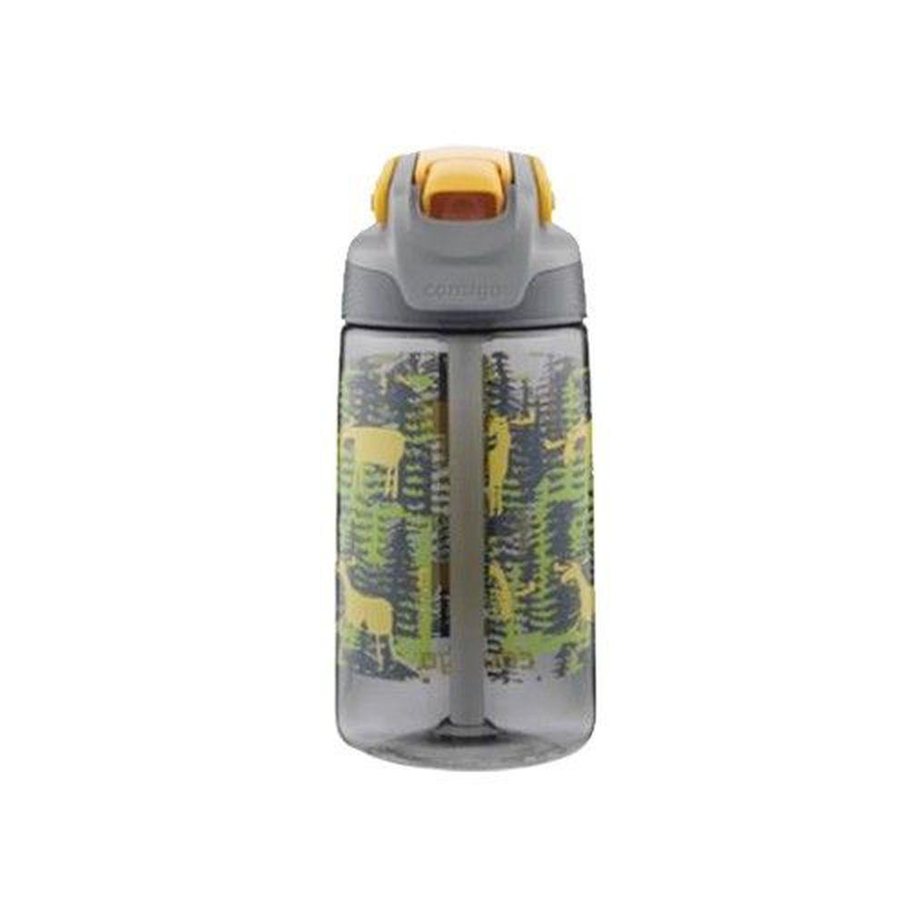 美國 Contigo - Freestyle兒童吸管瓶-迷彩森林-470cc