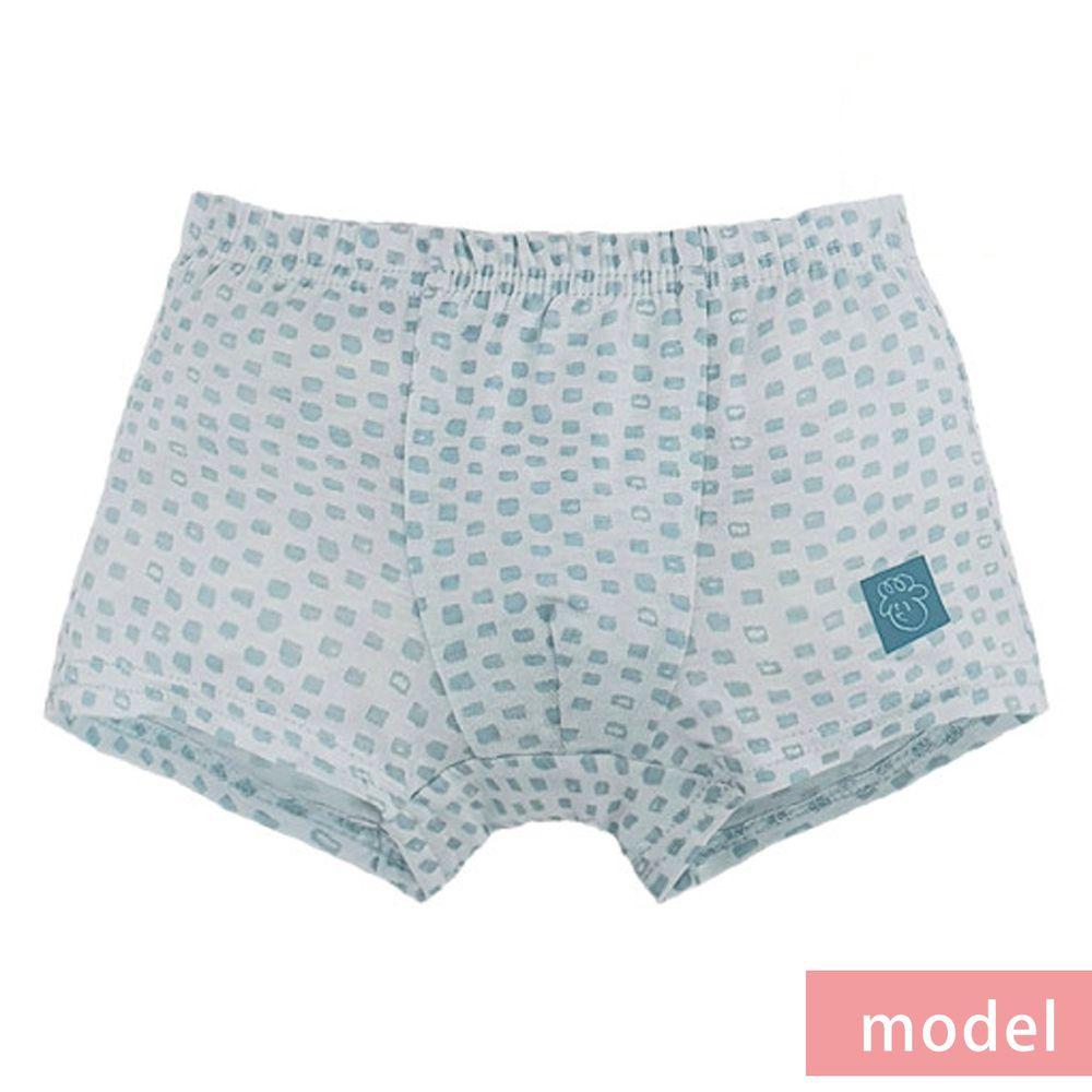 韓國 Ppippilong - 莫代爾親膚四角褲(男寶)-捲毛小子