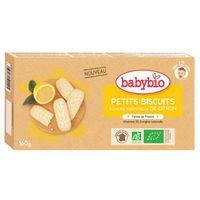 滿799贈品-法國Babybio 有機寶寶成長餅乾-檸檬 X 1