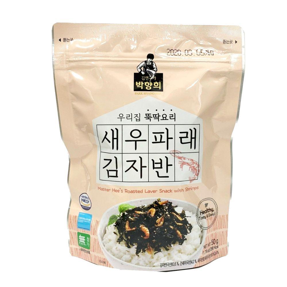 韓國朴師傅 - 海苔酥-鮮蝦口味-50g/包