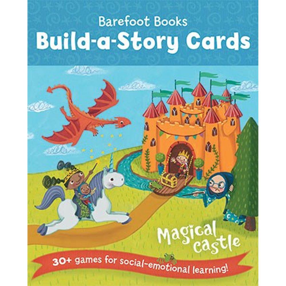 字卡遊戲- BUILD STORY CARDS MAGICAL CASTLE-彩色 (11x13cm/平裝/彩色/36張)