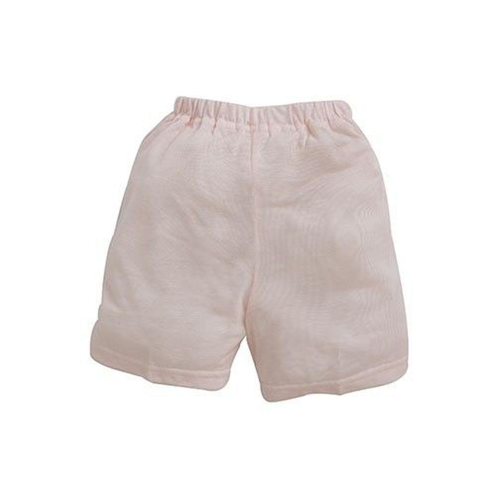 日本 Combi - 短褲(天絲棉)-小星星-黃色