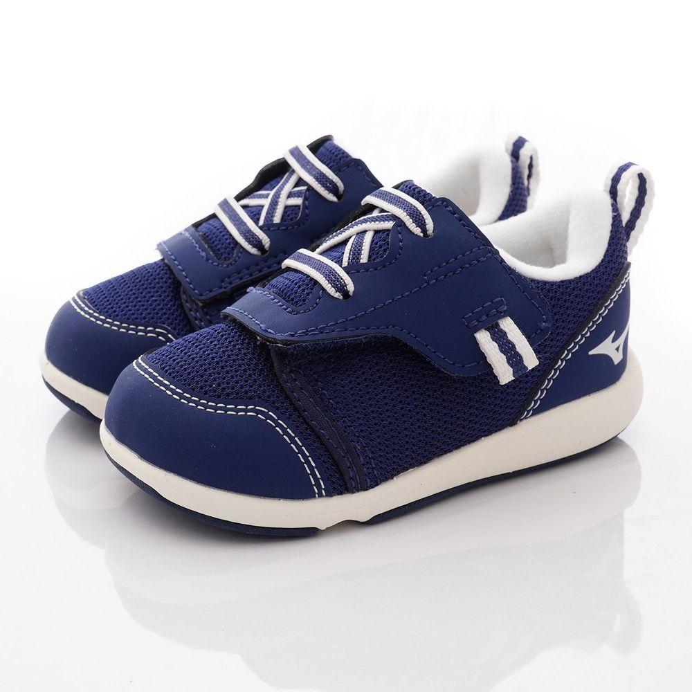 MIZUNO 美津濃 - 超輕量大絆帶機能鞋款(寶寶段)-深藍