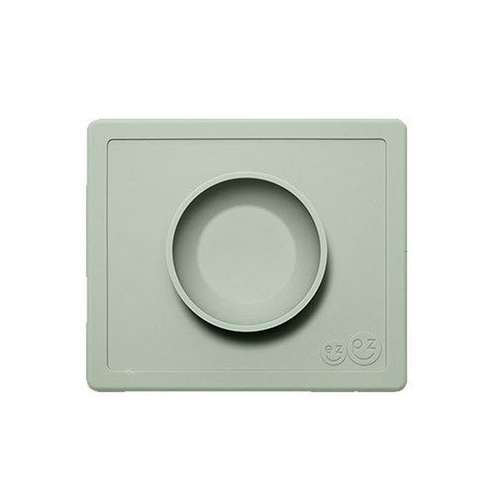 美國 ezpz - 快樂餐盤 Happy Bowl-餐碗-抹茶綠 (26cm*23cm*3.8cm)-240ml
