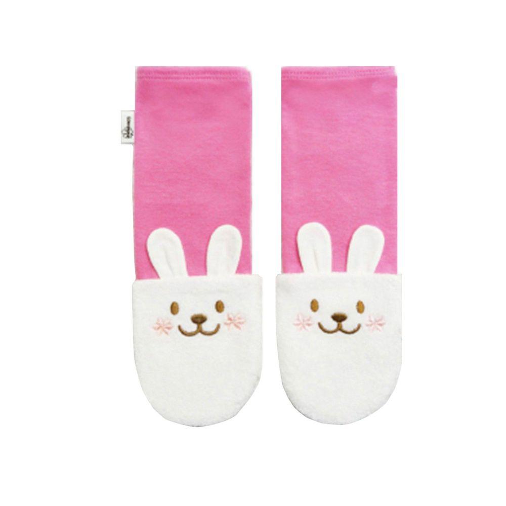 Edenswear 伊登詩 - 鋅健康嬰兒防抓臉造型袖套手襪-粉紅 (FREE)
