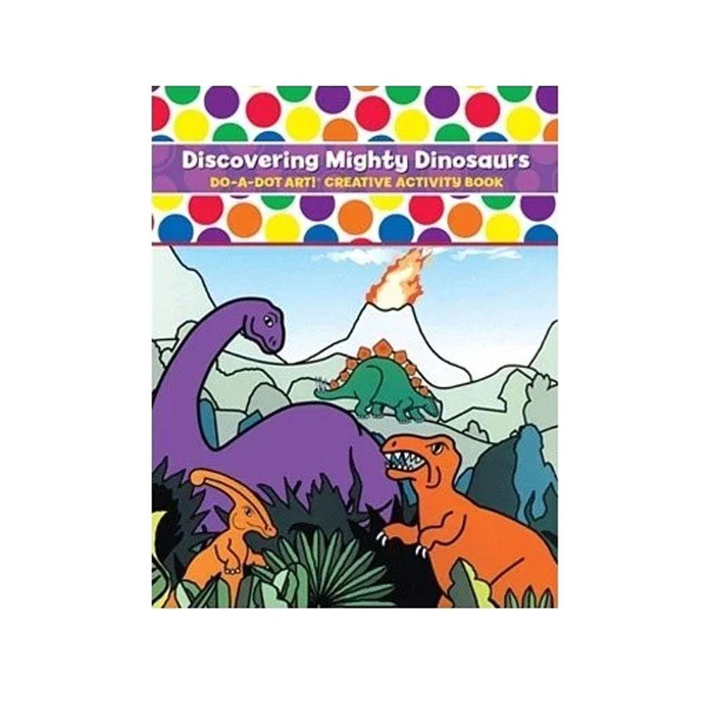 美國 Do A Dot Art - 點點畫冊-恐龍-16頁