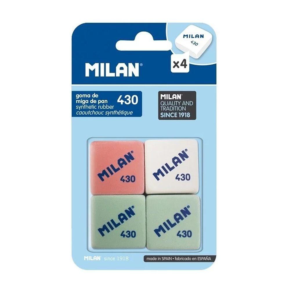 MILAN - 經典暢銷橡皮擦430_(4入不挑色)