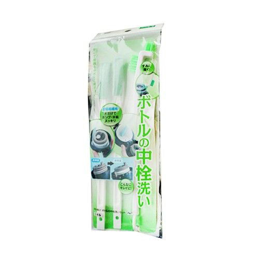日本 Mameita - 日本製奶瓶/保溫杯隙縫清潔刷具組