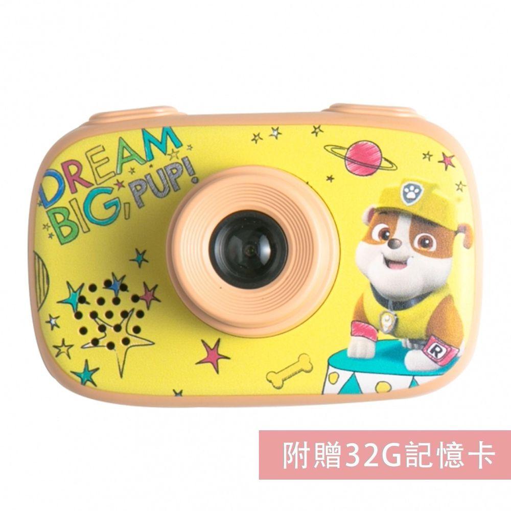 汪汪隊立大功 - 【新品】汪汪隊立大功授權童趣數位相機-黃-【升級附贈】32G記憶卡