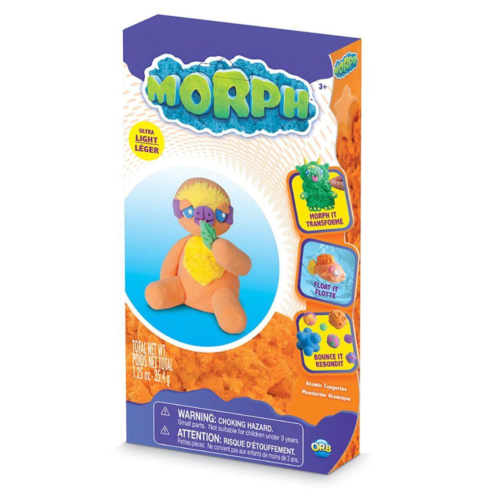瑞典 MORPH - 魔塑黏土-橘 (M)-35.4g