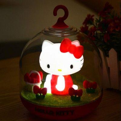 日本授權觸控小夜燈-Hello Kitty