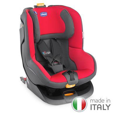 義大利 chicco - Oasys 1 Isofix安全汽座-糖心紅