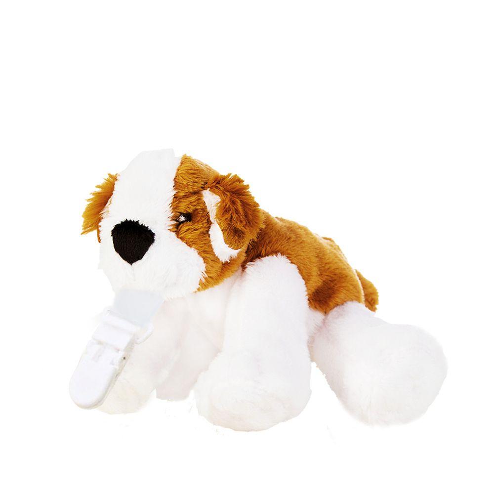 Snuggle 史納哥 - 娃娃奶嘴夾-小獵犬