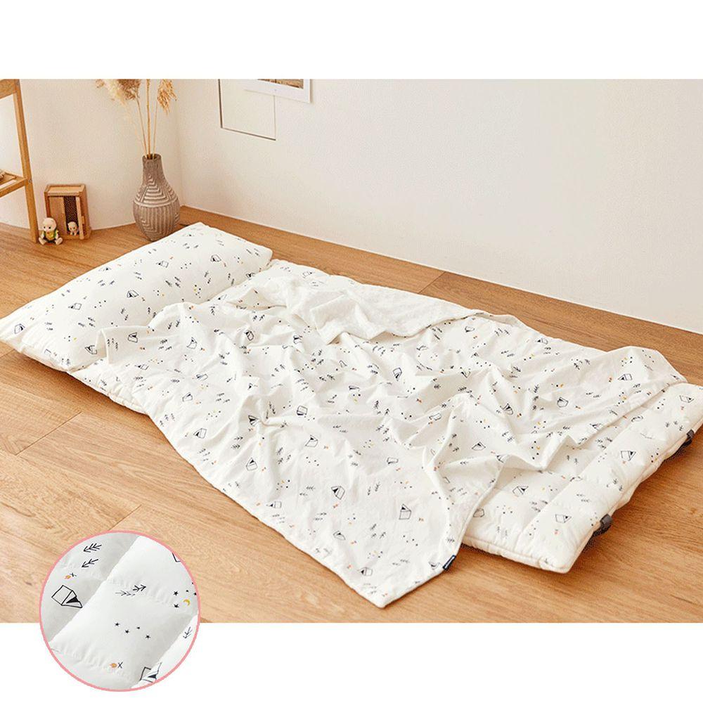 韓國 Formongde - (升級版)6cm厚雙面用睡袋/寢具(附收納袋)-野外露營