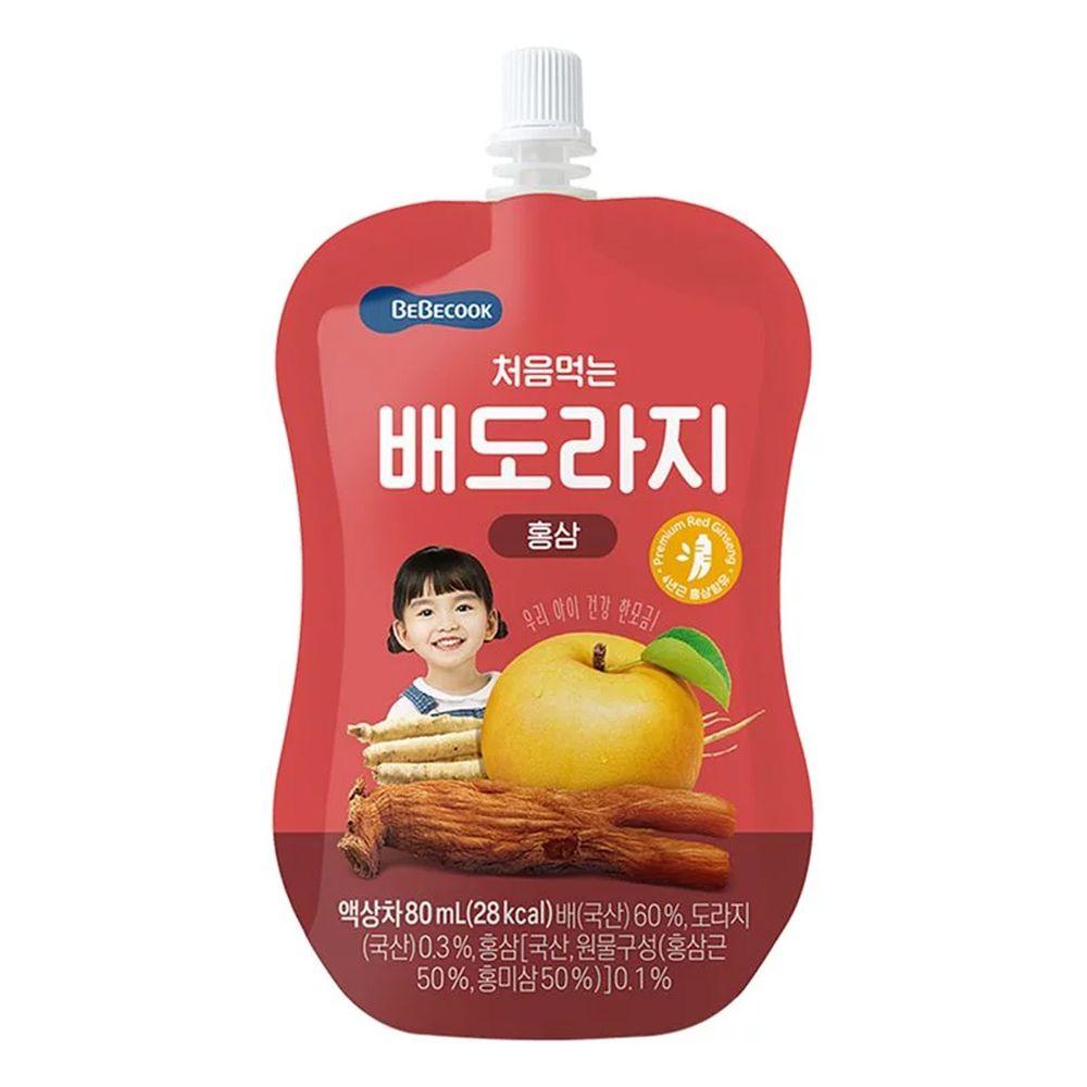 BEBECOOK 寶膳 - 智慧媽媽 嬰幼兒雪梨桔梗紅蔘汁(2歲以上)