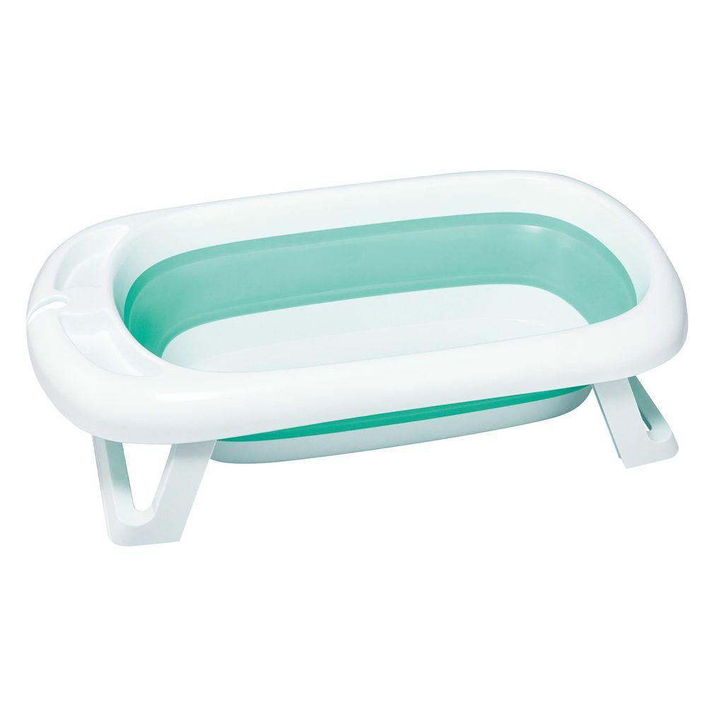 nac nac - 折疊浴盆組-清新綠