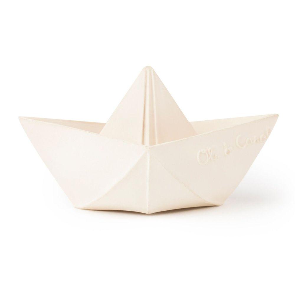 西班牙 Oli&Carol - 摺紙小船-粉白