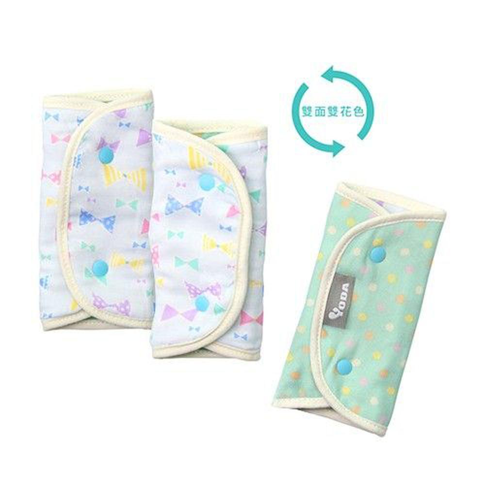 YODA - 和風輕柔日本紗舖棉口水巾-蝴蝶領巾