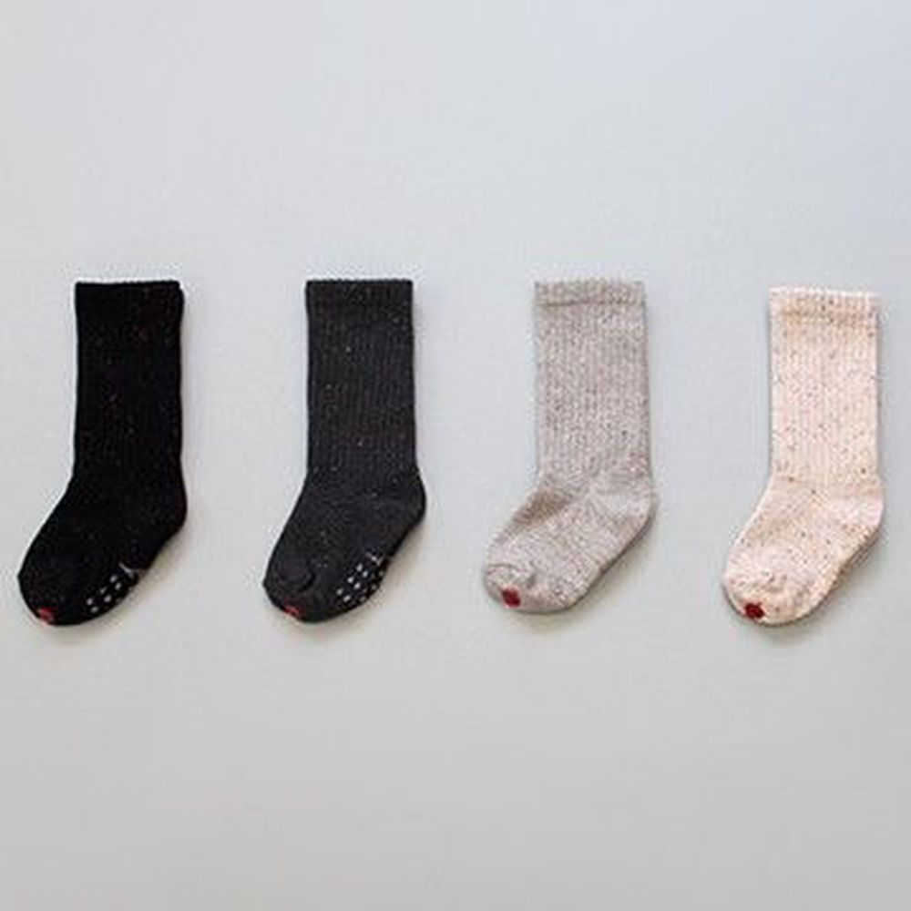 韓國 Kokacharm - 韓國製踝襪-四件組-Bokashi Warm