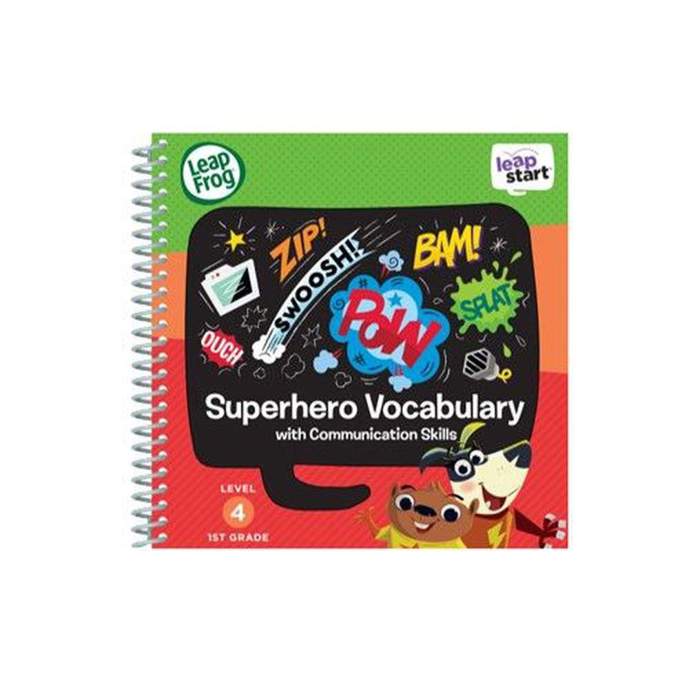 LeapFrog美國跳跳蛙 - LeapStart Sr. Books: 兒童6- 超級英雄故事島