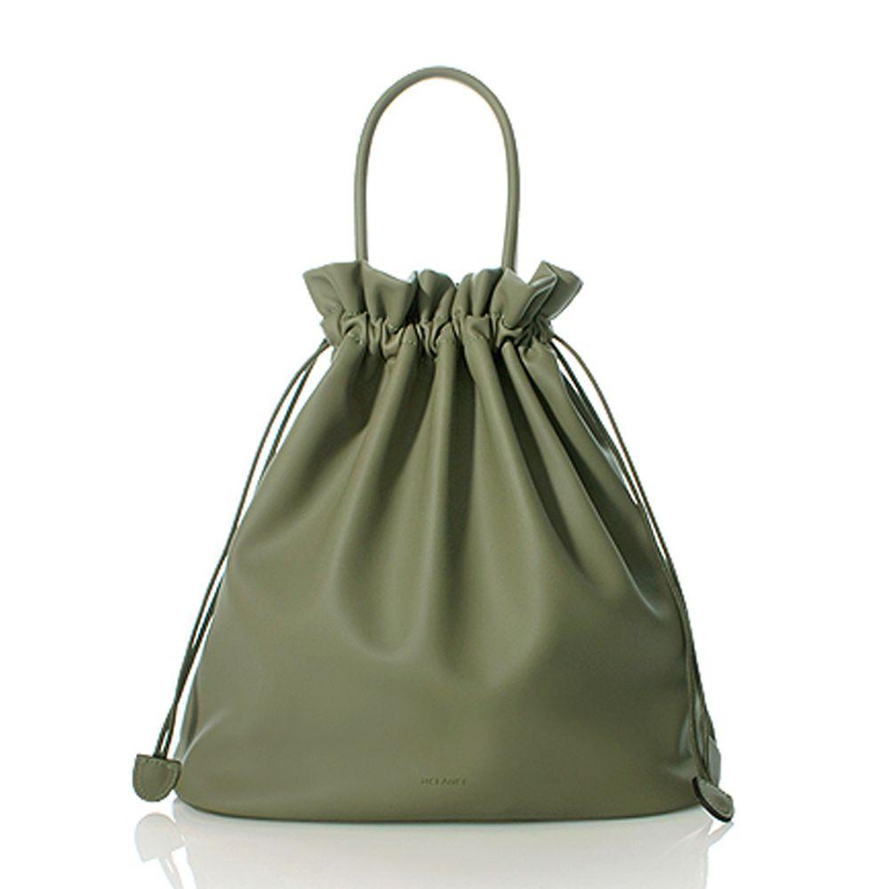 韓國 Mclanee - TUZEN束口包-橄欖綠 (30*29.5*12.5cm)