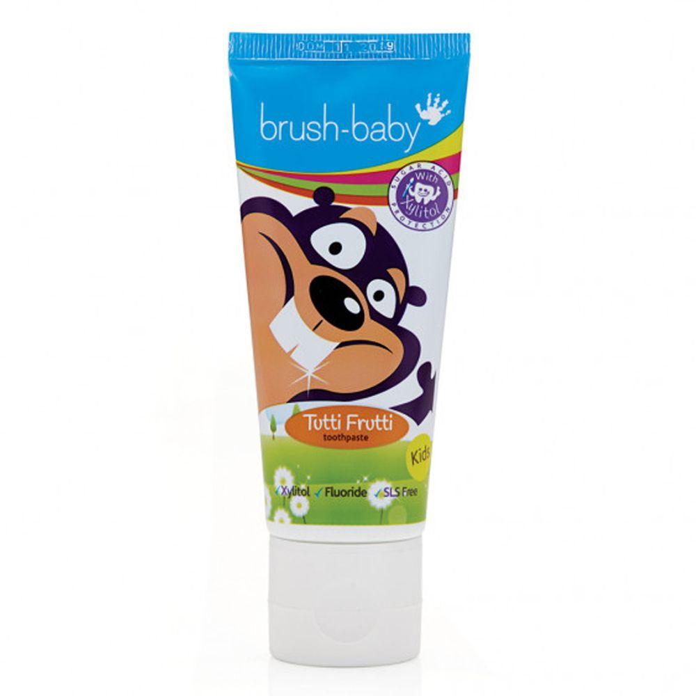 英國 brush-baby - 幼兒木糖醇牙膏(50ml)-3-6歲-含氟量 1350ppm