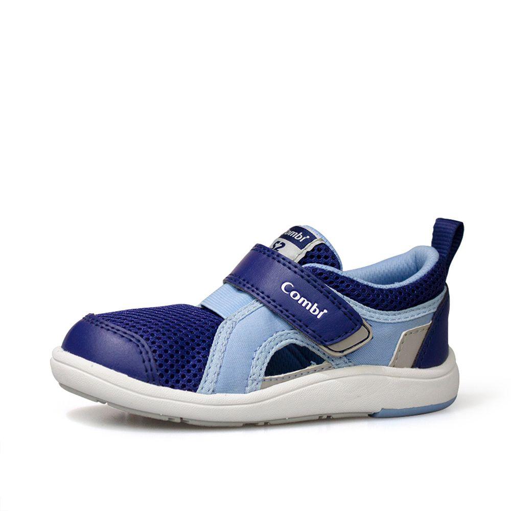 日本 Combi - 機能童鞋/學步鞋-NICEWALK 醫學級成長機能鞋-藍-C02