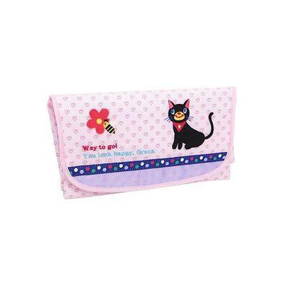 Baby POETIC 尿布墊收納包-小貓